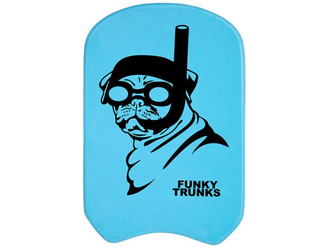 Funky Trunks Kickboard, snorkel pug